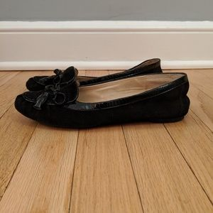 Enzo Angiolini Shoes - Enzo Angiolini Black Suede Loafers